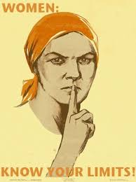 Image result for silencing women's voices